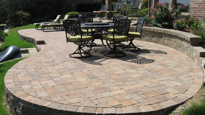 patio pavers landscaping designs