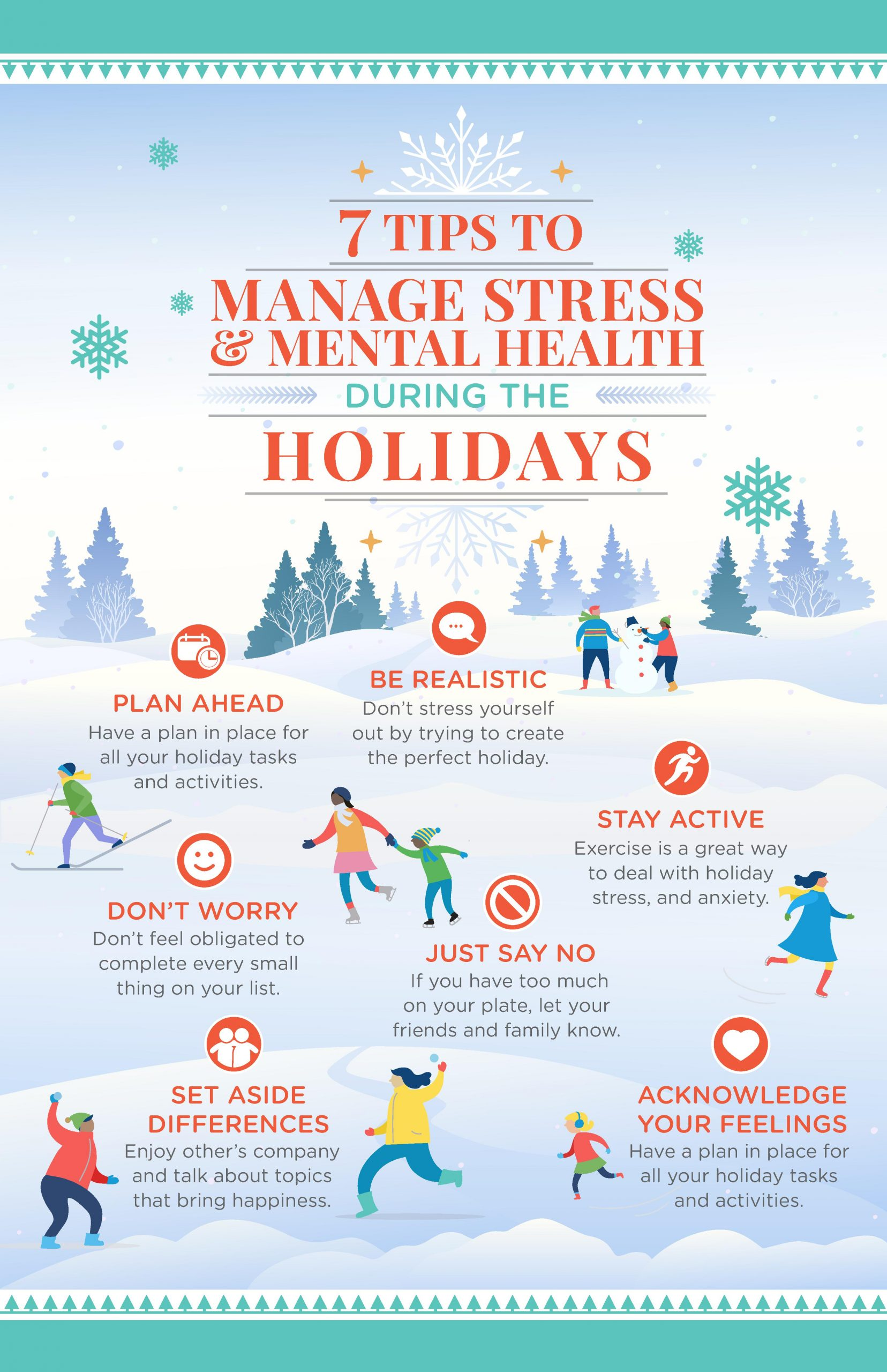 How To Manage Stress Amp Mental Health During The Holidays
