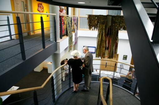 Deanna Tyson exhibition opening