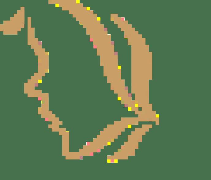 Ambre fleur cheveux