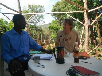 Discussion entre Jean Arnaud et Daniel Rodary.