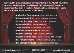 We're so much more then just the AS/400 and IBM i people!