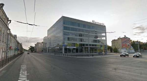"Здания ""Кристалла"", ВКАбанка и офис Газпрома в Астрахани ..."