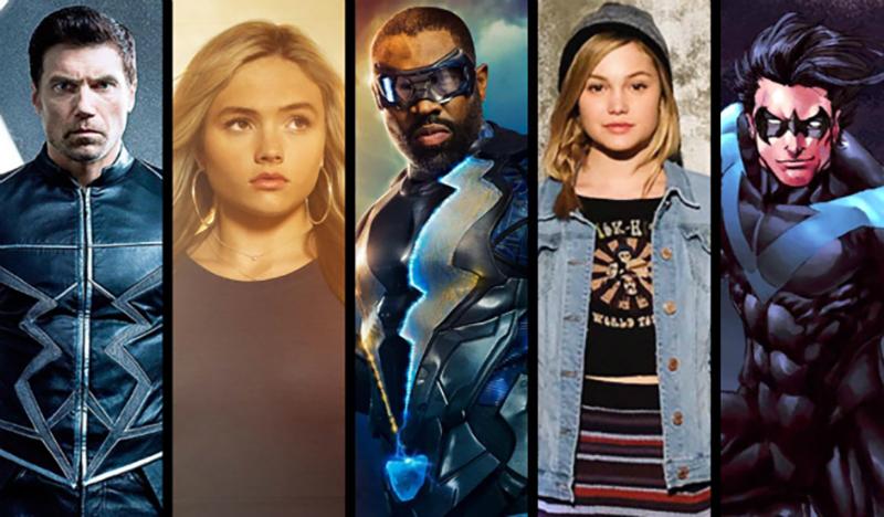 أبرز المسلسلات المبنية على الكوميكس القادمة في 2017 - 2018