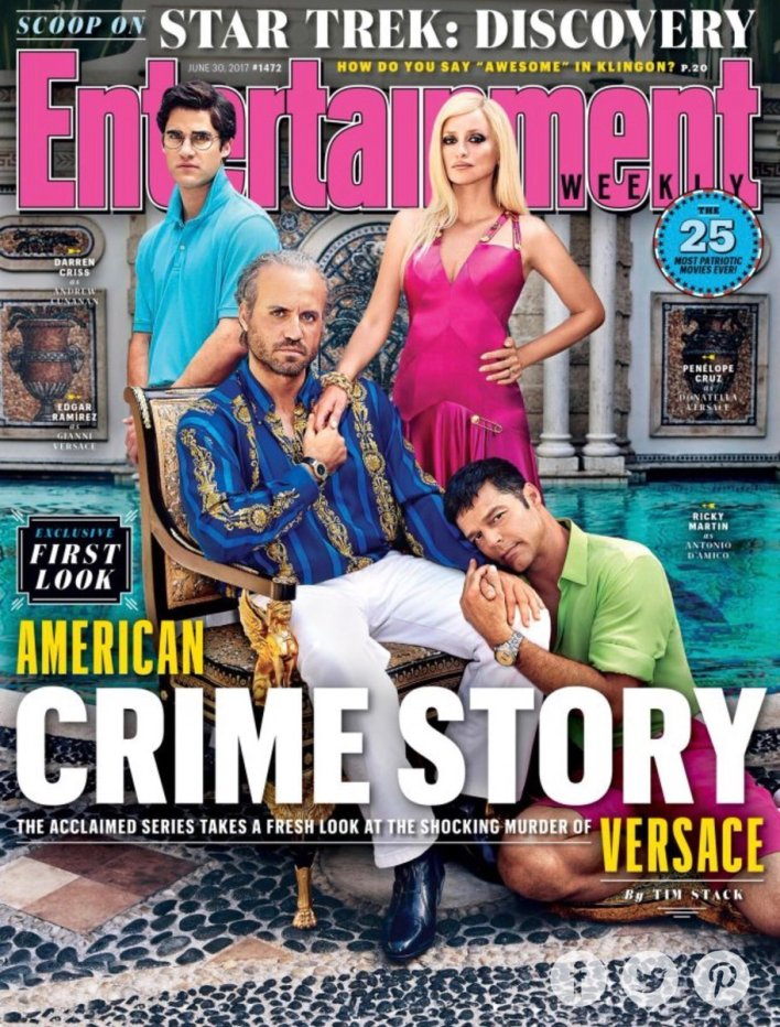 American Crime Story Season 2 The Assassination of Gianni Versace Poster