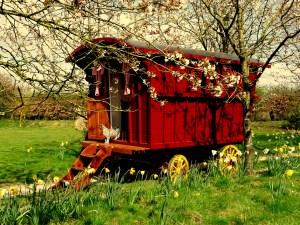 Beautiful, hand built caravans from the Gypsy Caravan Company