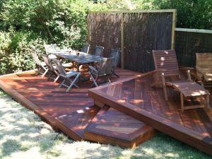 Hardwood decking, Landscaping, Garden design garden makeover Fencing Tree surgery Paving patio Brighton & Hove Sussex