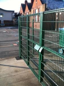 Custom built gates for Shcool applications