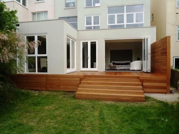 Hardwood decking Brighton