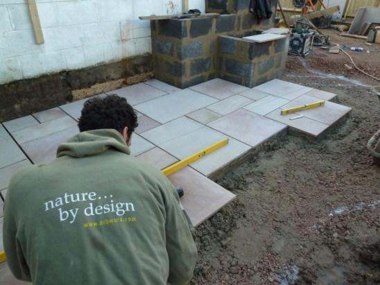 bricklaying paving carpentry skilled landscaper