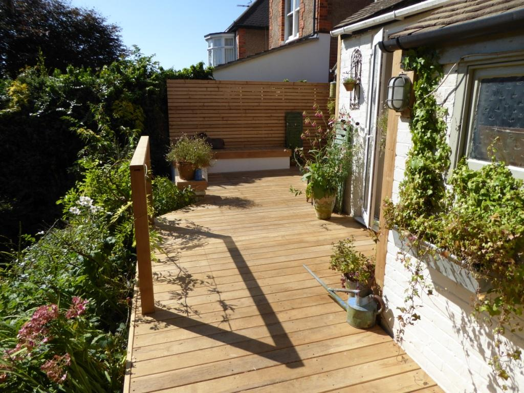 Hardwood decking contractor, Brighton