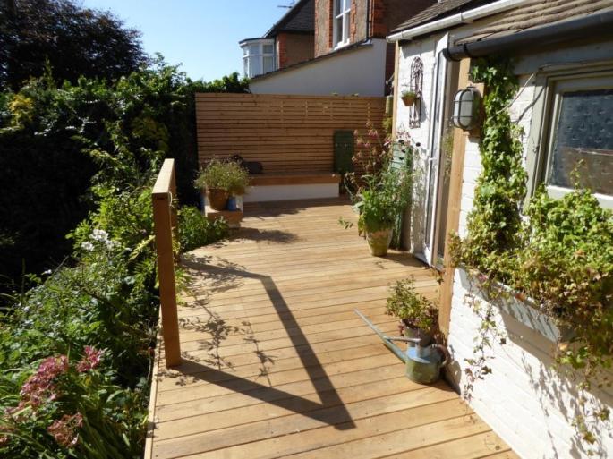 Hardwood decking contractor, Brighton
