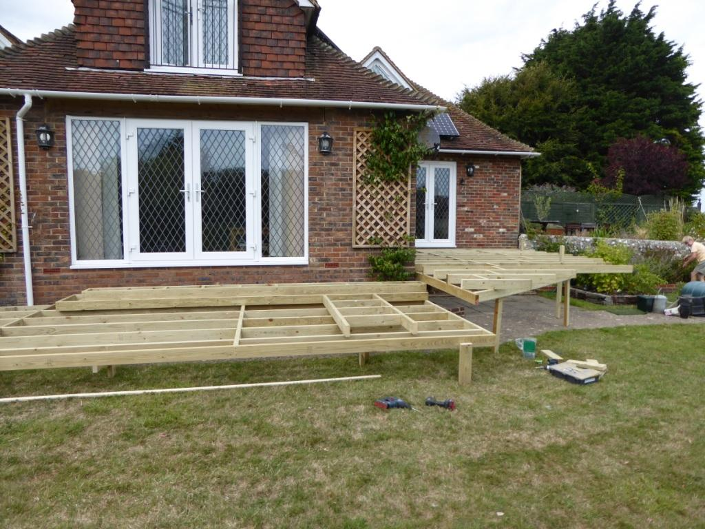 setting levels and site preparation, Sussex