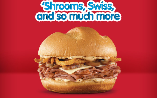 'Shrooms, Swiss,and so much more