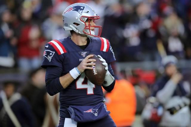 Can Jarrett Stidham replace Tom Brady? QB practiced vs. NFL's top ...