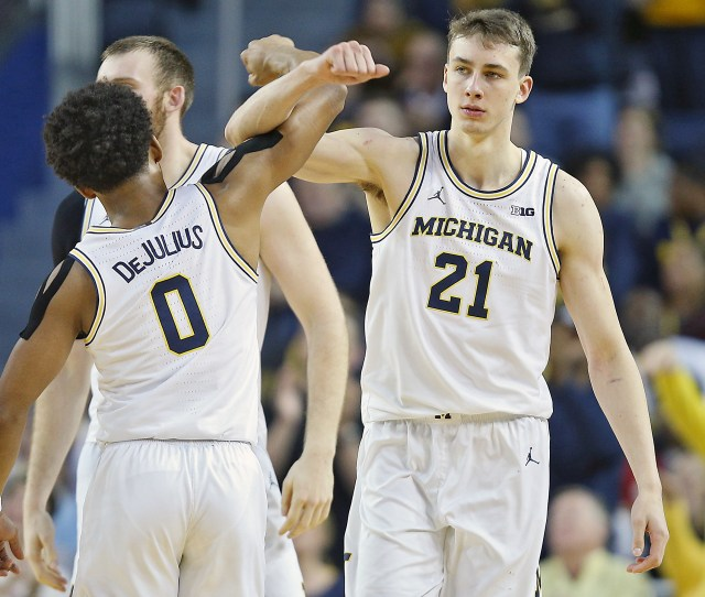 Michigan Basketball Roster Outlook For   Has Talent
