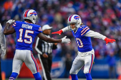 Bills' Stefon Diggs, Josh Allen on what Diggs' arrival means for John Brown, Cole Beasley - syracuse.com
