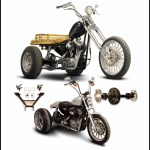 Paughco Bolt On Sportster Trike Conversion Kits Out Now Motorcycle Cruiser