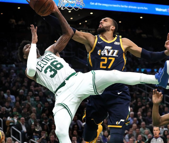 The Celtics Played The Jazz Days Before Rudy Gobert Was Diagnosed