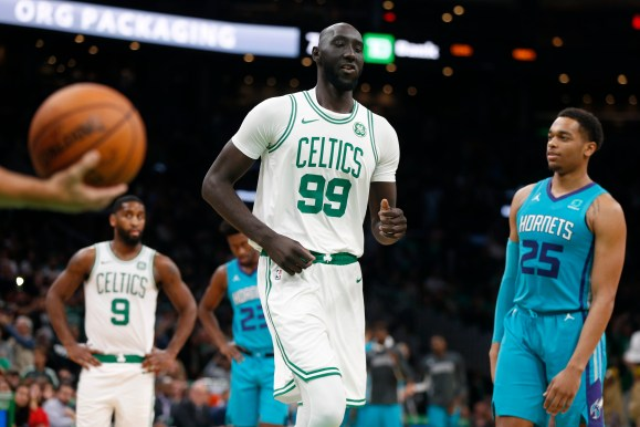 Tacko Fall to remain with Celtics on a two-way contract - The Boston Globe