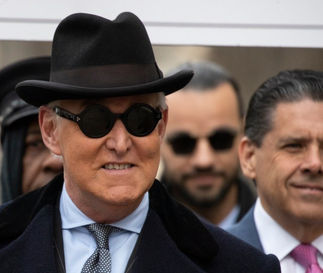 Trump Ally Roger Stone Sentenced To  Months In Prison The