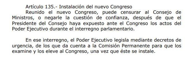 (Fuente: Constitución Política del Perú)