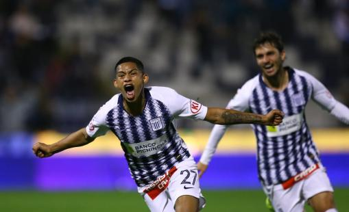 Kevin Quevedo figura de Alianza Lima
