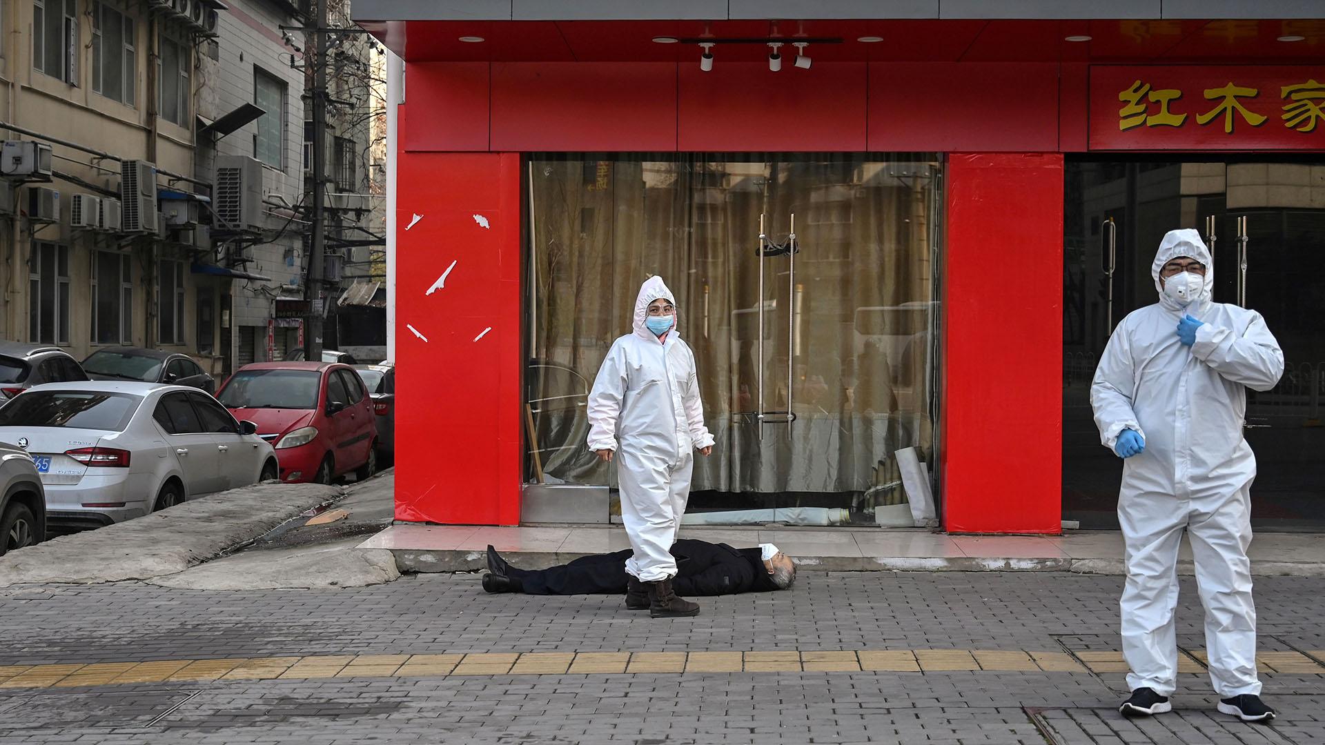 El mundo está en alerta por la enfermedad (Héctor RETAMAL / AFP)