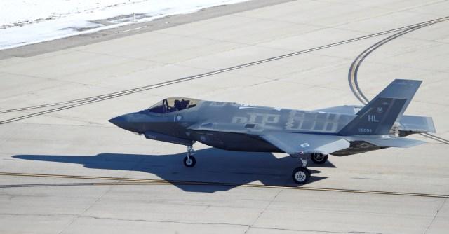 En la Base Aérea Hill hay 78 F-35A de acuerdo a una publicación oficial de la Fuerza Aérea de los Estados Unidos (Reuters)