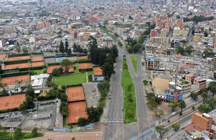Bogotá, Colombia, el 21 de marzo. (Raul ARBOLEDA / AFP)