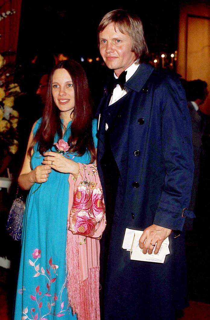 Jon Voight and Marcheline Bertrand (1975) /Shutterstock