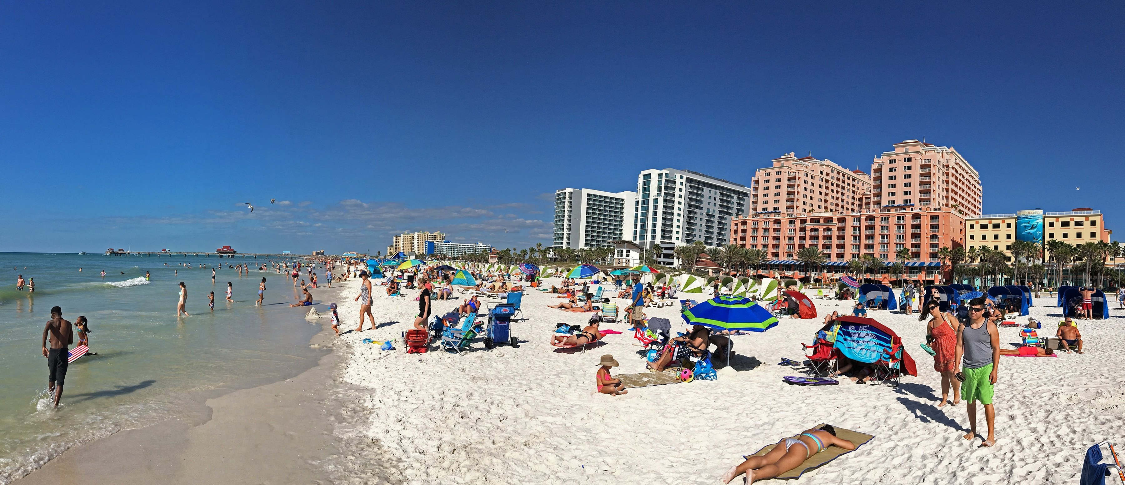 Hd stream from atop the famous frenchy's rockaway grill on one of america's top beaches!enjoy our view of clearwater beach on the west coast of florida. Clearwater Beach Ranked No 1 By Tripadvisor S Best Beaches 2019