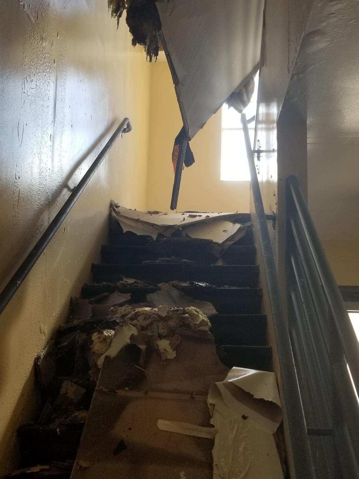 Mclane Fire Struck Seventh Grade Classrooms
