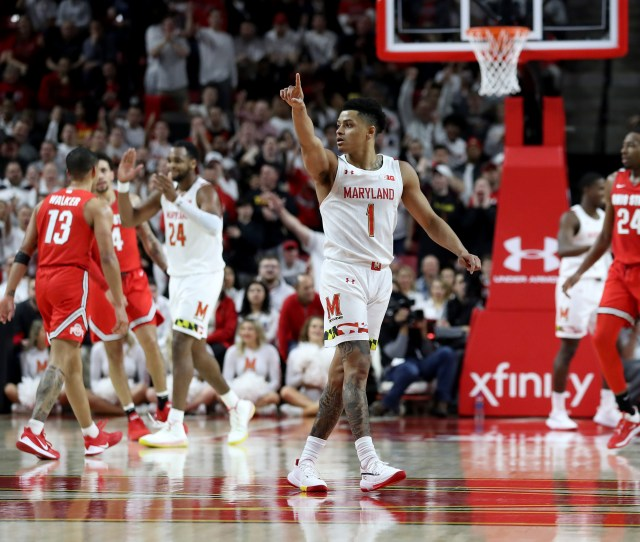 Previewing No  Maryland Mens Basketball Vs No  Ohio State