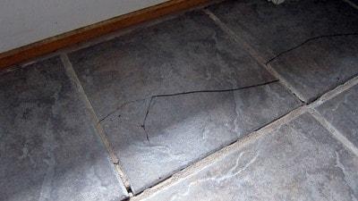 to replace broken ceramic floor tile