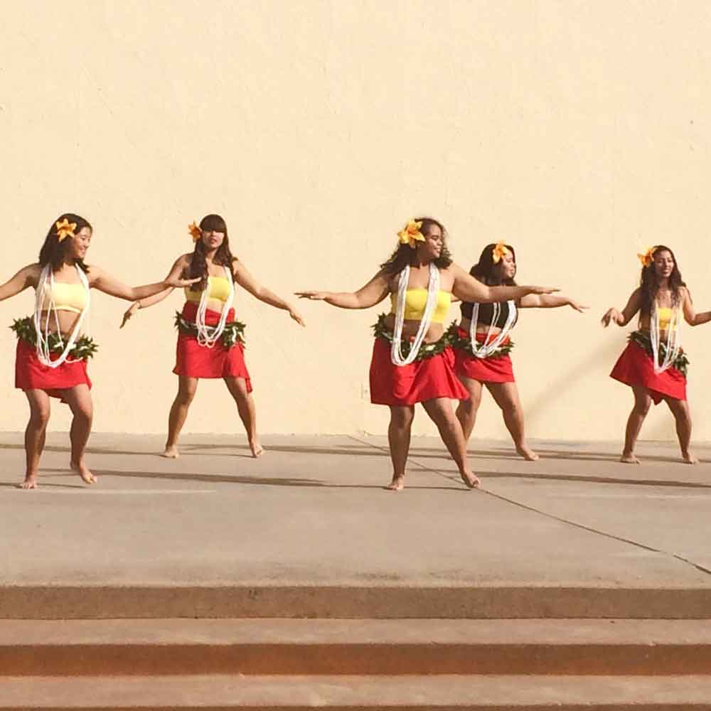 Morse High School's Pacific Islander Student Association practices for a cultural dance performance.