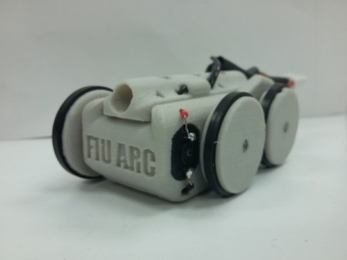 Miniature magnetic rover
