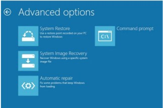Windows 8 Recovery Command Prompt