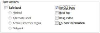 No GUI Boot