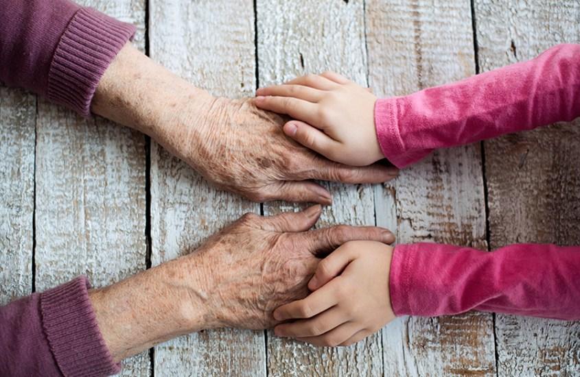 convivência entre avós e netos-arcababy
