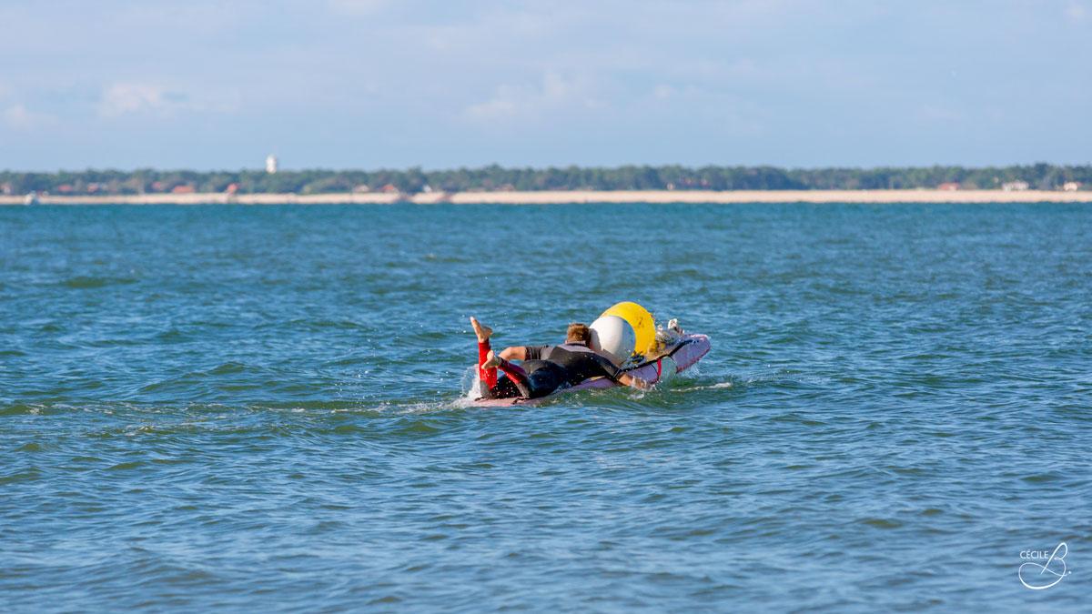 Sauvetage sportif arcachon sauvetage cotier mise en place des bouées