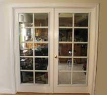 interior door glass acoustic panels