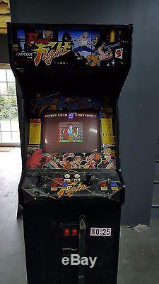 Capcom Final Fight Arcade Video Game Machine