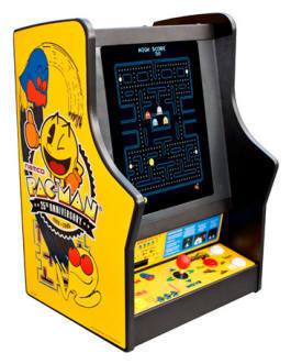 Countertop Arcade : Arcade Heroes Pac-Man 25th Anniversary Countertop Coin-op game ...