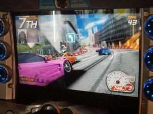 Heated battle in Dead Heat Street Racing