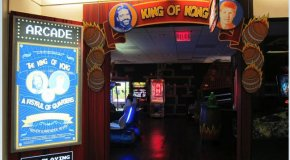 Billy Mitchell opens the King of Kong Arcade