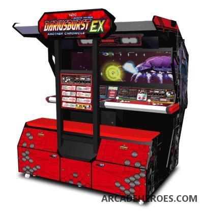 Arcade Heroes Darius Burst Another Chronicle EX and new BlazBlue ...