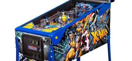 First pictures of X-Men Pinball with Wolverine and Magneto LE models