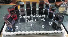 Arcade Cake Deliciousness