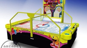 First Look: Unique Pac-Man Smash Air Hockey Coming To North America